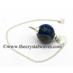 Lapis Lazuli Round Pendulum