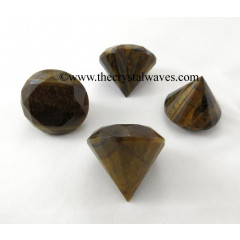 Tiger Eye Agate Diamonds