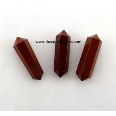 "Red Jasper 1"" - 1.50"" Double Terminated Pencil"
