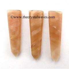 Peach Moonstone Flat Pencil