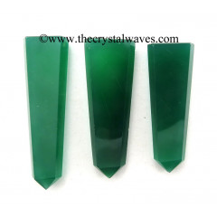 Green Chalcedony Flat Pencil