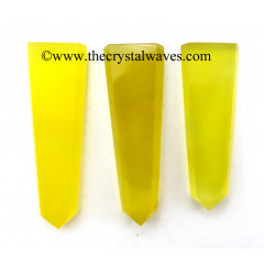 Yellow Chalcedony Flat Pencil
