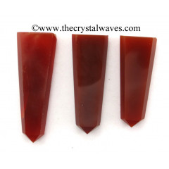Red Chalcedony Flat Pencil