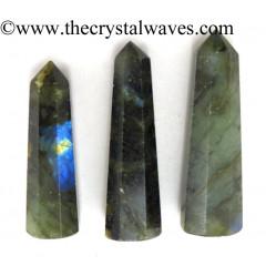 Labradorite 1.5 to 2 Inch Pencil 6 to 8 Facets