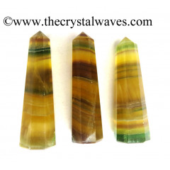 "Fluorite 2"" to 3"" Pencil 6 to 8 Facets"