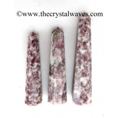 "Lepidolite 3""+ Pencil 6 to 8 Facets"