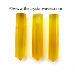 "Yellow Chalcedony 1 - 1.50"" Pencil"
