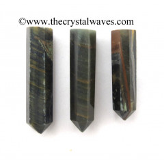 "Blue / Black Tiger Eye Agate 1.5 - 2"" Pencil"