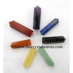 "1.5 - 2"" Pencil  Chakra Set"