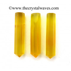 "Yellow Chalcedony 1.5 - 2"" Pencil"