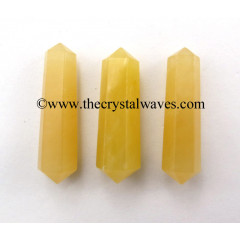 "Yellow Aventurine 1 - 1.50"" Double Terminated Pencil"