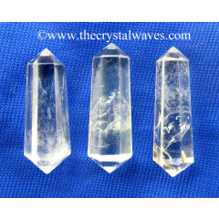 "Crystal Quartz AB Grade 1.50 - 2"" Double Terminated Pencil"