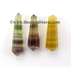 "Fluorite 2 - 3"" Double Terminated Pencil"