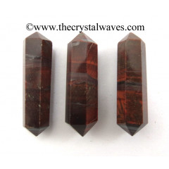 "Red Tiger Eye Agate 1.50 - 2"" Double Terminated Pencil"