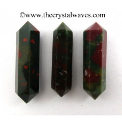 "Blood Agate 2 - 3"" Double Terminated Pencil"