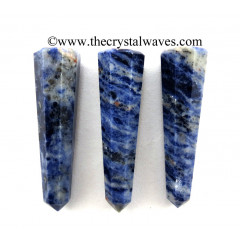 Sodalite 1.5 to 2 Inch Pencil 6 to 8 Facets