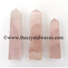 Rose Quartz Good Color 1.50 - 2 Inch Tower