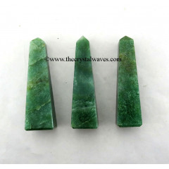 Green Aventurine (Dark) 1.50 - 2 Inch Tower