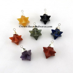 Multi Color  Merkaba / Star  Pendant