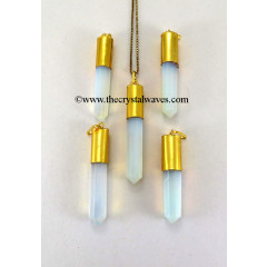Opalite Long Cap G.P. Pencil Pendant