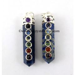 Lapis Lazuli Pencil Chakra Pendant