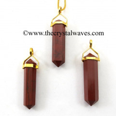 Red Jasper D.P Pencil G.P. Pendant