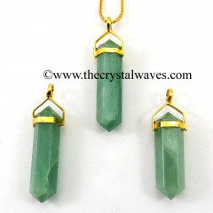 Green Aventurine D.P Pencil G.P. Pendant