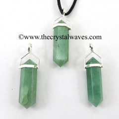 Green Aventurine D.P Pencil S.P. Pendant