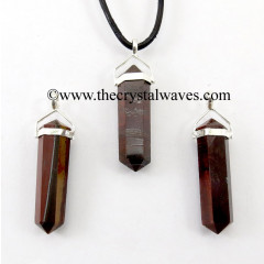 Red Tiger Eye Agate D.P Pencil S.P. Pendant