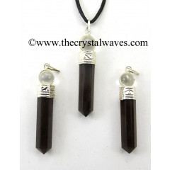 Black Obsidian 2 Piece Pencil Pendant