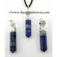 Lapis Lazuli 2 Piece Pencil Pendant