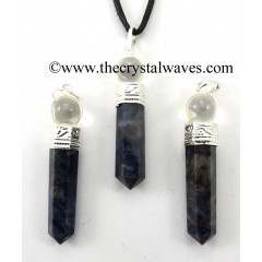 Sodalite 2 Piece Pencil Pendant
