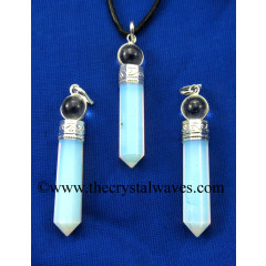 Opalite 2 Piece Pencil Pendant