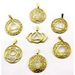 Chakra Symbols Casted G.P Chakra Metal Set