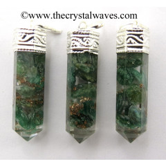 Green Aventurine Capped Pencil Pendant
