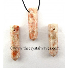 Sunstone Pencil Pendant