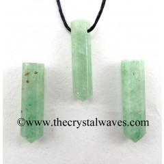 Green Aventurine (Light) Pencil Pendant