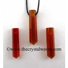 Red Chalcedony Pencil Pendant