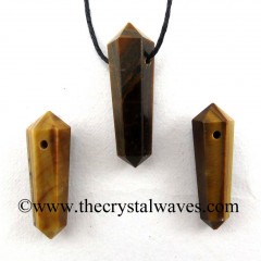 Tiger Eye Agate D.P Pencil Pendant