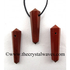 Red Jasper D.P Pencil Pendant