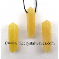 Yellow Aventurine D.P Pencil Pendant
