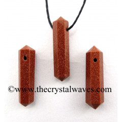 Red Goldstone D.P Pencil Pendant