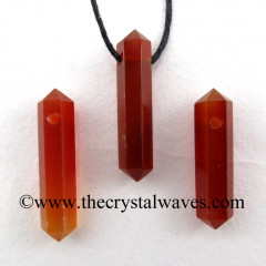 Red Chalcedony D.P Pencil Pendant