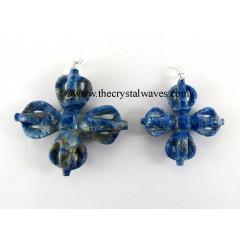 Lapis Lazuli Vajra Pendant