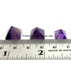 Amethyst less than 15mm wholesale pyramid