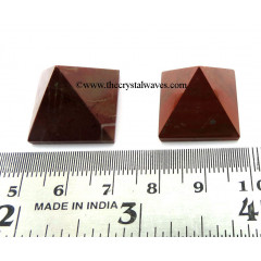 Red Jasper 15 - 25 mm wholesale pyramid