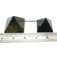 Blood Stone  35 - 55 mm wholesale pyramid