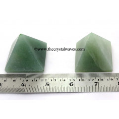 Green Aventurine (Light)  35 - 55 mm wholesale pyramid