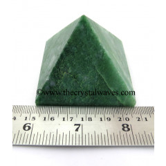 Green Aventurine ( Light) more than 55 mm Large wholesale pyramid
