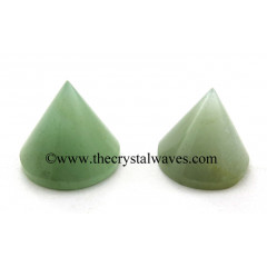 Green Aventurine Conical Pyramid